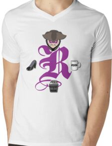 The Revenge Society Mens V-Neck T-Shirt