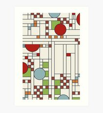Frank lloyd wright S02 Art Print