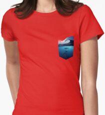 Surf art Womens Fitted T-Shirt