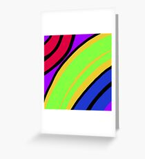 Boldly Bright Greeting Card