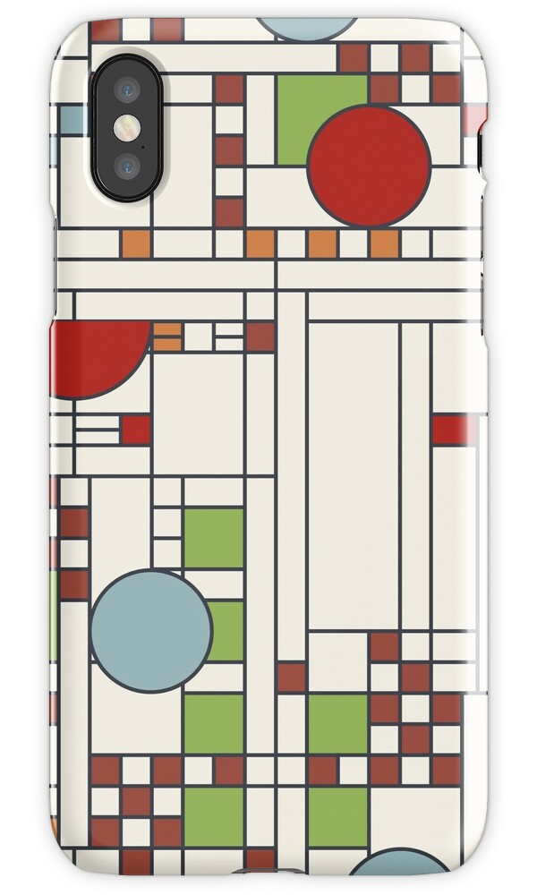 """Frank lloyd wright S02"" iPhone Cases & Skins by etmeusmoi ..."