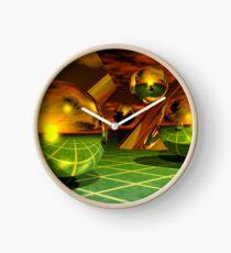Noble Metal Worlds Clock