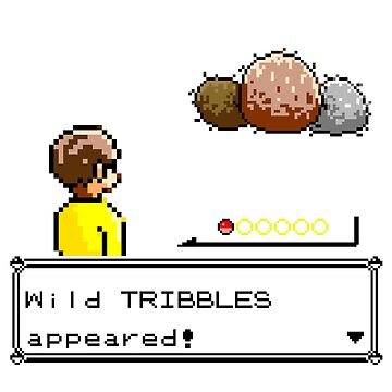 Wild Tribbles Appeared! by myfluffy