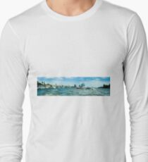 hamburger hafen 01 Long Sleeve T-Shirt