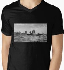 hamburger hafen 02 Men's V-Neck T-Shirt