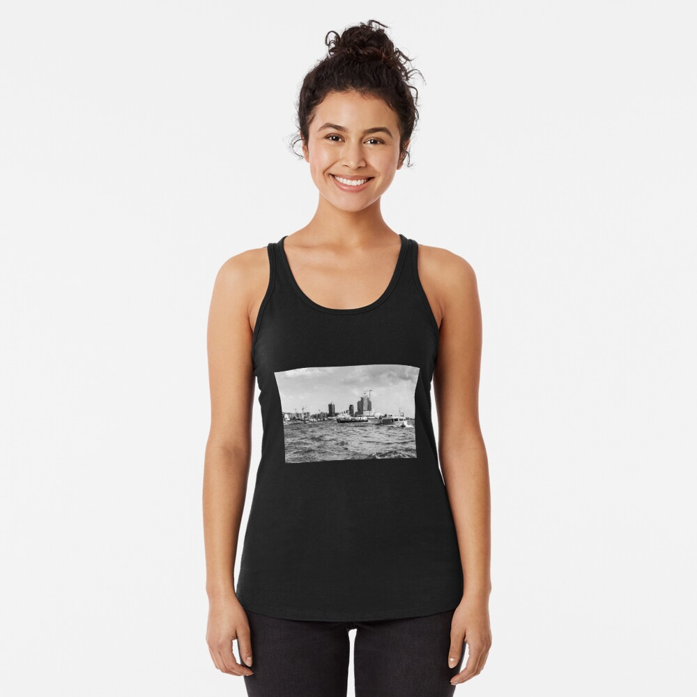 hamburger hafen 02 Racerback Tank Top
