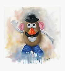 Mr Potato Head - vintage nostalgia  Photographic Print