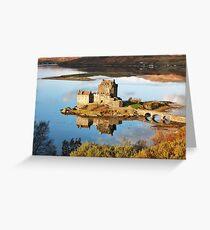Eilean Donan - Loch Duich Reflection  Greeting Card