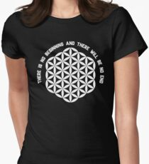 Sacred Geometry: Flower Of Life - Existance Quote Variation T-Shirt