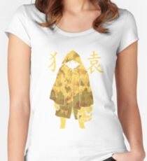 Monogatari - Suruga Monkey (stained) Women's Fitted Scoop T-Shirt