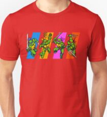 TMNT Turtles in Time Characters T-Shirt
