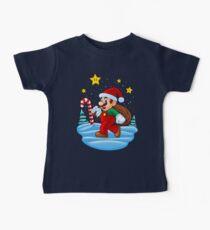 Mario Xmas Baby Tee