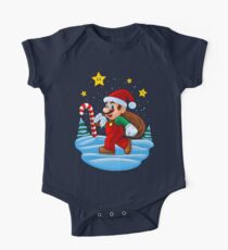 Mario Xmas One Piece - Short Sleeve