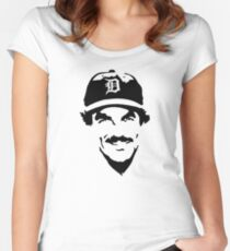 Thomas Magnum  Women's Fitted Scoop T-Shirt