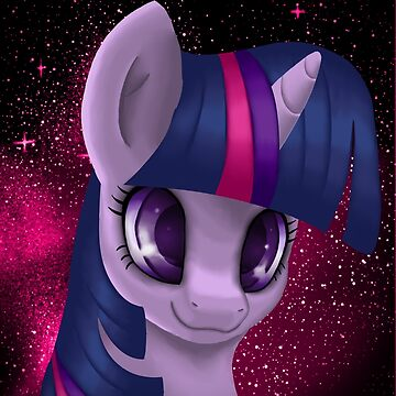 Twilight Sparkle Portrait by LegendDestroye