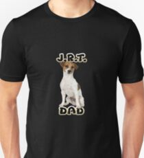 Jack Russell Terrier Dad Father Unisex T-Shirt