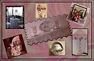 Photo collage of sweet things in my home by Sandra Foster