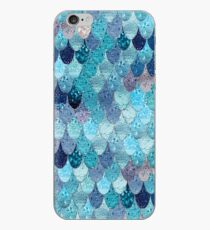 SUMMER MERMAID DARK TEAL by Monika Strigel iPhone Case