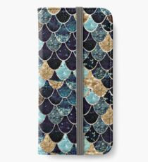 MYSTIC MERMAID BLUE iPhone Flip-Case/Hülle/Klebefolie