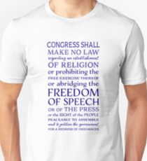Defend Freedom of the Press Unisex T-Shirt