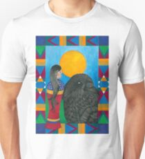 Crow Woman Unisex T-Shirt