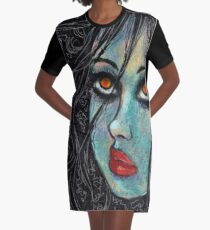 VII Graphic T-Shirt Dress