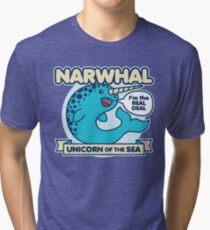 Narwhal Tri-blend T-Shirt