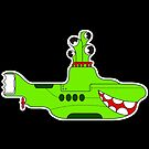 retro submarine by beatbeatwing