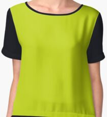 Bitter Lemon Women's Chiffon Top