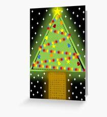 Xmas Tree 2016 (1) Greeting Card