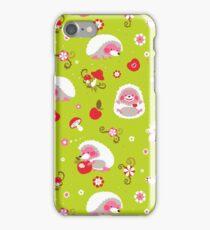 Cute Hedgehog Baby Print iPhone Case/Skin