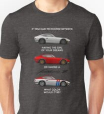 Wenn du wählen müsstest Slim Fit T-Shirt