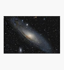The Andromeda Galaxy in constellation Andromeda Photographic Print