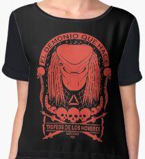 The Skull Collector - Predator Women's Chiffon Top