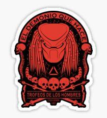 The Skull Collector - Predator Sticker