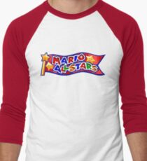 The Mario All Stars Men's Baseball ¾ T-Shirt