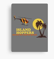Island Hoppers Canvas Print