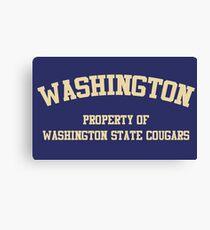 Washington State - Washington Rivalry Canvas Print
