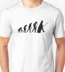 Evolution  lightsaber T-Shirt