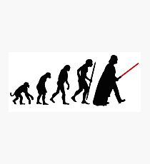 Evolution  lightsaber Photographic Print