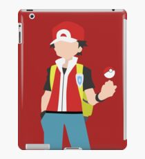 Red (Simplistic) iPad Case/Skin