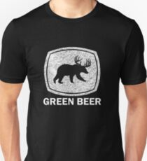 Green Beer white Unisex T-Shirt