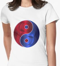 Yin  Yang Women's Fitted T-Shirt