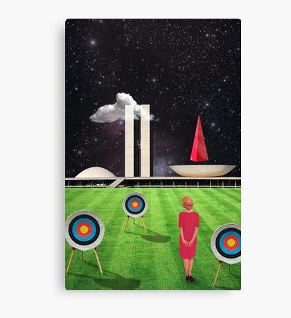 Modern Vintage Collection -- Planalto Central Canvas Print