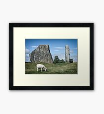 Avebury, Stonecircle in England Framed Print