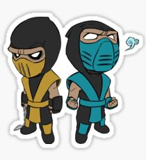 Scorpion & Sub-Zero Sticker