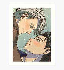 Victuuri - Yuri!!! On Ice Art Print