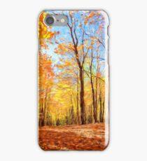 Canadian Autumn in Ontario iPhone Case/Skin