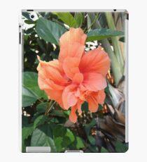 Polynesian Orange Hibiscus iPad Case/Skin