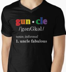 Gay Uncle Definition Shirt Gay Uncle is Fabulous Pride Shirt T-Shirt